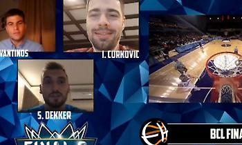 Ντέκερ στο Eurohoops: «Το Final-8 του ΒCL μου θυμίζει NCAA» (video)