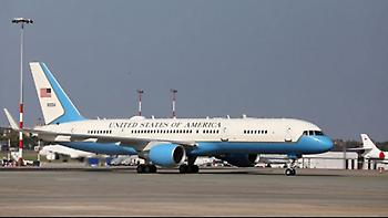 Το αεροσκάφος που μετέφερε τον Μάικ Πενς επέστρεψε στο Νιου Χάμσιρ λόγω μηχανικού προβλήματος