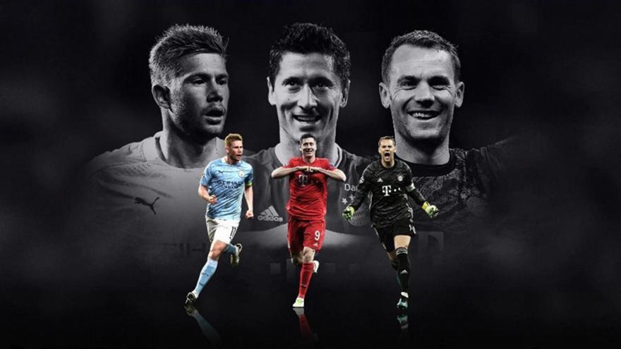 Οι τρεις υποψήφιοι της UEFA για τον καλύτερο παίκτη της σεζόν
