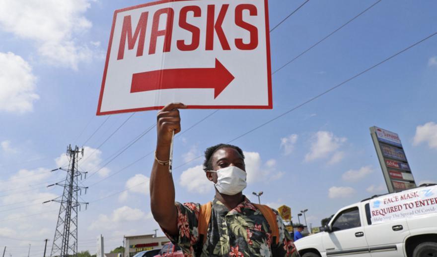 Κορωνοϊός - ΗΠΑ: Τα κρούσματα ξεπέρασαν τα 7 εκατομμύρια, πάνω από 203.000 οι θάνατοι