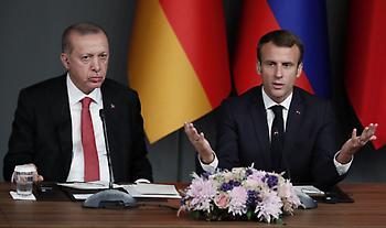 Παιχνίδια Ερντογάν με Γαλλία-εξοπλισμούς: Τι πρότεινε στον Μακρόν και τι του απάντησε