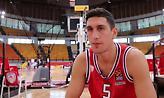 Λαρεντζάκης: «Να αποδείξω, κυρίως σε μένα, ότι είμαι παίκτης γι αυτό το επίπεδο» (video)
