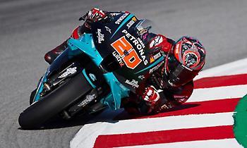 MotoGP: Ο Κουαρταράρο μπροστά στο FP3, πολύ κοντά ο Βινιάλες