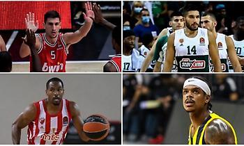 Ευρωλίγκα: Νέα σεζόν με πολλά νέα πρόσωπα! (πίνακας)