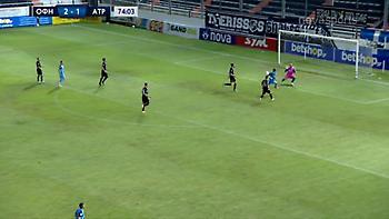 Δύο μεγάλες ευκαιρίες σε οκτώ λεπτά έχασε ο Μανούσος (video)