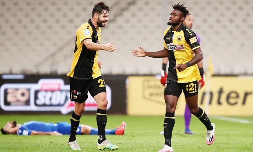 ΑΕΚ-Λαμία: Γκολ και highlights