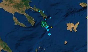 Νέος ισχυρός σεισμός στο Άγιον Όρος