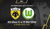 Το πρόγραμμα του ΑΕΚ-Βόλφσμπουργκ