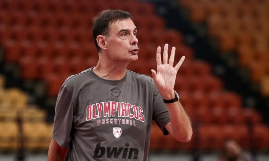 Μπαρτζώκας: «Να χτίσουμε τη νέα ομάδα του Ολυμπιακού»