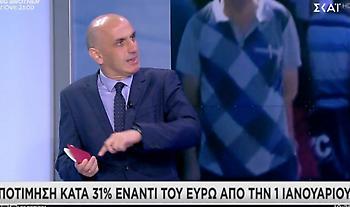 Τουρκική λίρα σε... ελεύθερη πτώση- Προβλέψεις για υποτίμηση που θα αγγίξει το 48%