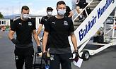 Έφτασε στη Θεσσαλονίκη η Κράσνονταρ (pics)