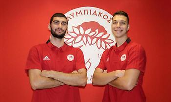 Στην πρώτη ομάδα του Ολυμπιακού οι Στράτος και Δορδοκίδης