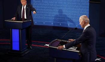 Κακοφωνία, εντάσεις και πολύ βαριά λόγια στο πρώτο debate Τραμπ-Μπάιντεν