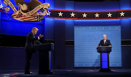 ΗΠΑ-1η προεκλογική τηλεμαχία: «Είσαι κλόουν» και πανδαιμόνιο Τραμπ που δεν νίκησε Μπάιντεν