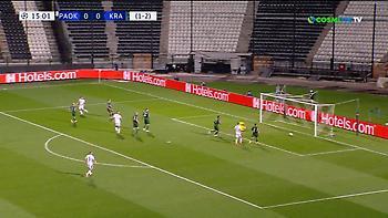 Άγγιξε το γκολ με Ζίφκοβιτς ο ΠΑΟΚ (video)