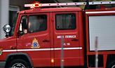 Πυρκαγιά σε, υπό κατασκευή, καφετέρια στη Γλυφάδα