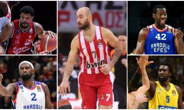 Ευρωλίγκα: Οι TΟΠ-100 παίκτες της φετινής σεζόν (30-21)