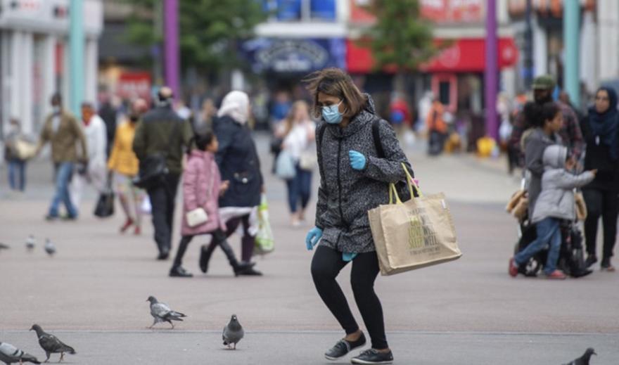 Κορωνοϊός-Αγγλία: Ευρεία διασπορά αλλά μείωση ρυθμού μετάδοσης