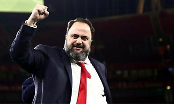Μαρινάκης: «Θα σηκώσουμε και πάλι ψηλά την ελληνική σημαία» (pic)