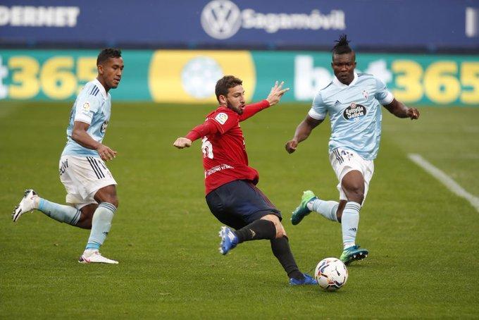 La Liga: Οσασούνα-Θέλτα 2-0