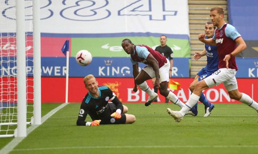 Premier League: Λέστερ-Γουέστ Χαμ 0-3
