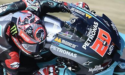 MotoGP: Πρώτος ο Κουαρταράρο στο FP3