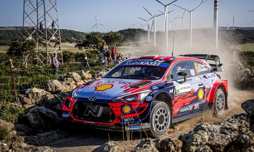 WRC: Προηγείται στα μισά του ράλι Σαρδηνίας ο Σόρντο
