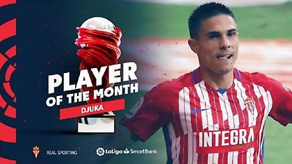 Παίκτης του μήνα στην La Liga 2 o Tζούρτζεβιτς!