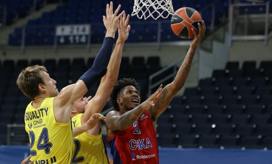Φενέρ-ΤΣΣΚΑ Μόσχας: 77-78 - Μπάσκετ - Euroleague | sport-fm.gr: ΣΠΟΡ FM 94.6