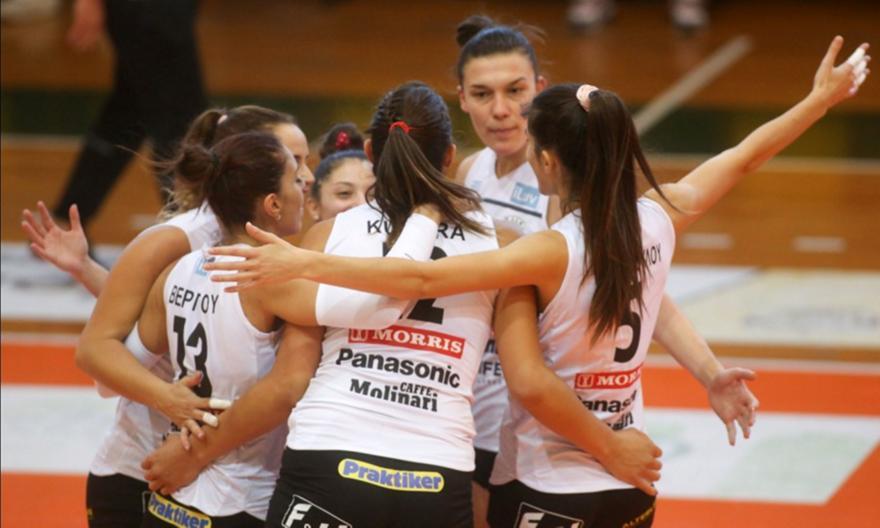«Δύο στα δύο» για ΠΑΟΚ, Μαρκόπουλο στη Volley League γυναικών
