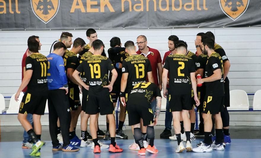 Χάντμπολ ανδρών: Σαλαμίνα-ΑΕΚ 27-40