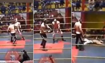 Σοκ: Έπεσε νεκρός παλαιστής σε διάρκεια αγώνα wrestling (video)