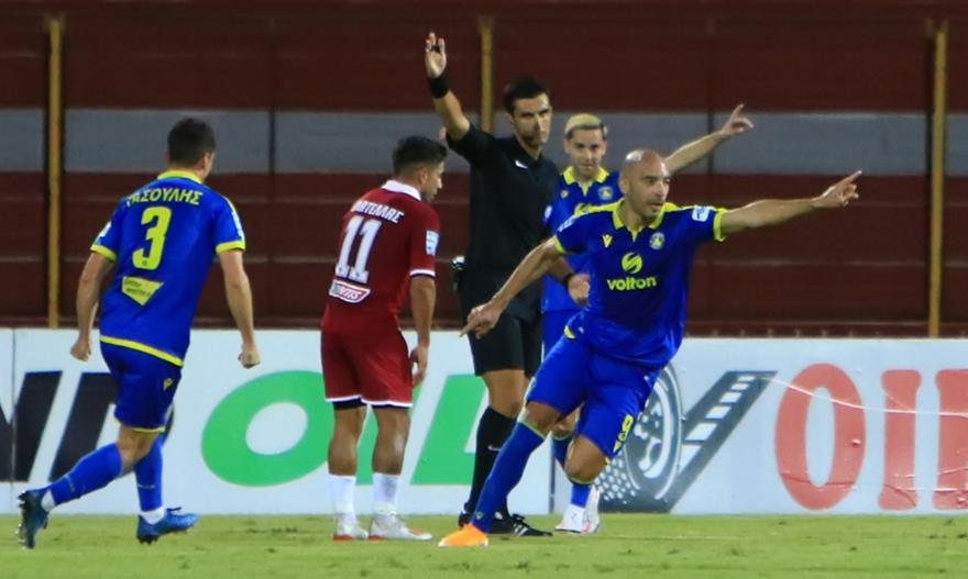Super League: ΑΕΛ-Αστέρας Τρίπολης 1-3
