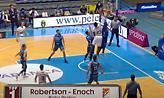 Η συνεργασία Ρόμπερτσον-Ένοχ στο Top 7 της ACB (video)
