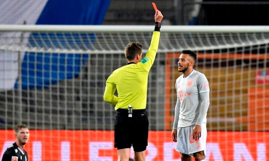Μπάγερν: Χάνει τα επόμενα δύο ματς ο Τολισό