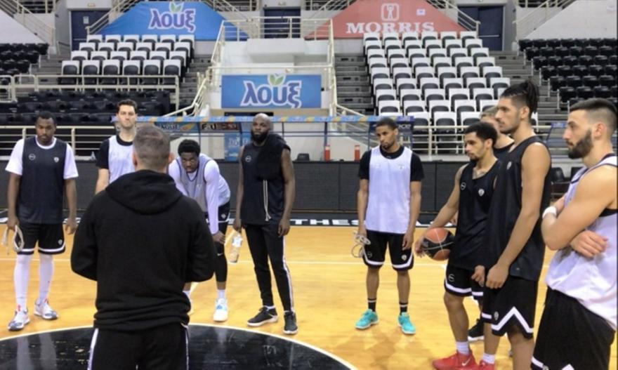 Ξανά στο παρκέ οι μπασκετμπολίστες του ΠΑΟΚ