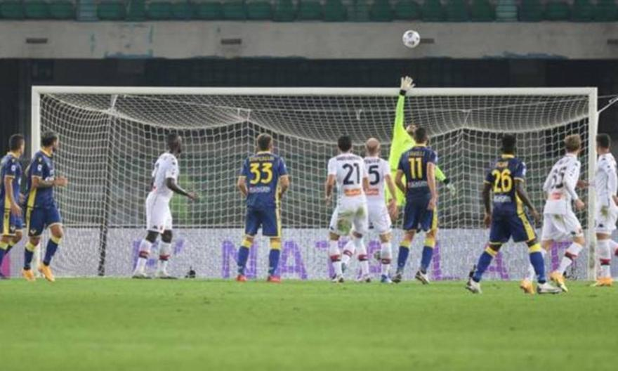 Serie A: Βερόνα-Τζένοα 0-0