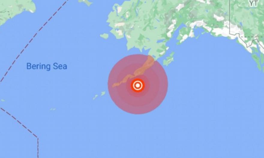 Αλάσκα: Πολύ ισχυρός σεισμός 7,5R και προειδοποίηση για τσουνάμι