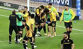 «Ζέσταμα» με τις μπάλες του Europa League η ΑΕΚ (pic)