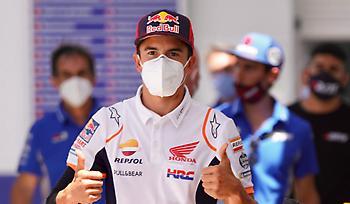 Αργεί ακόμη η επιστροφή Μάρκεθ στο Moto GP
