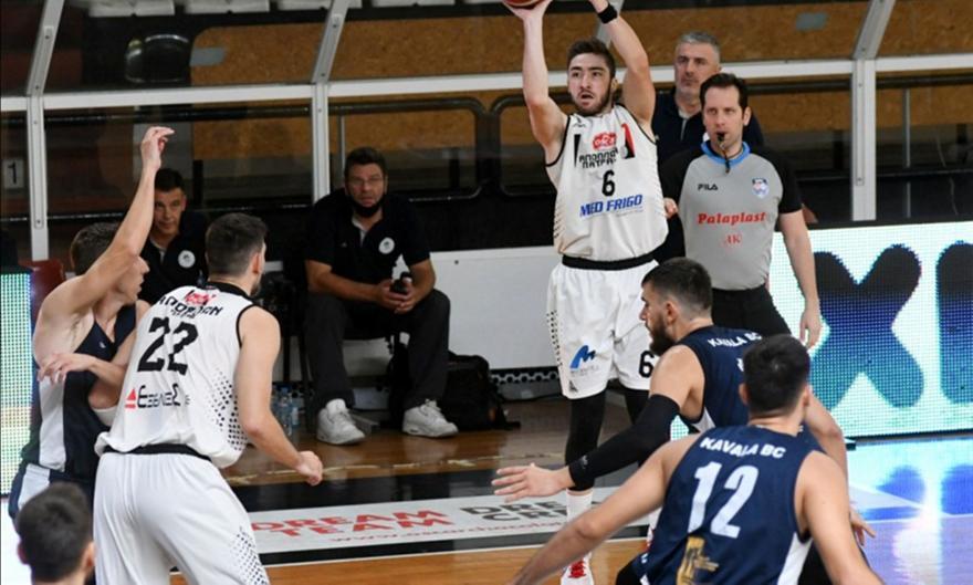 A2 μπάσκετ: Απόλλων Πατρών-Καβάλα 84-64