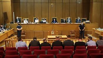 Δίκη Χρυσής Αυγής: Συνεχίζονται οι δευτερολογίες της υπεράσπισης για την έκτιση ποινών