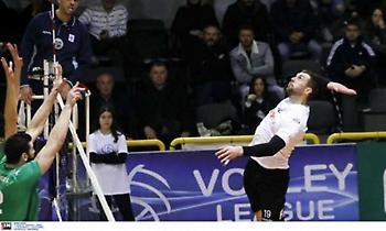 Μοίρασε την πρεμιέρα της Volley League η ΕΣΑΠ