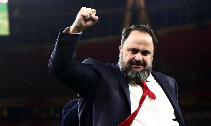 Ο Βαγγέλης Μαρινάκης για τη νίκη του Ολυμπιακού επί της Μαρσέιγ
