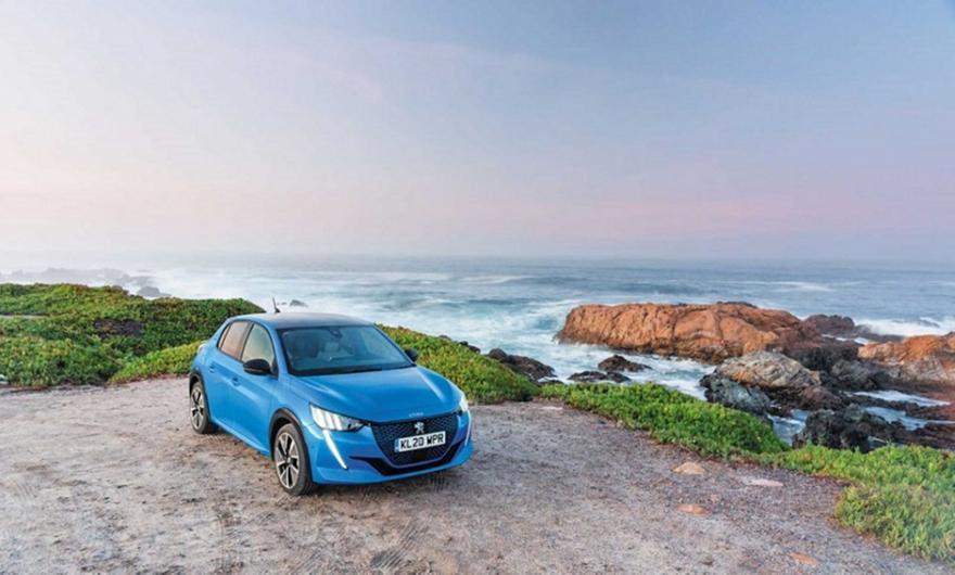 Νέα διάκριση για το Peugeot e-208