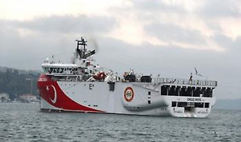 Στα 15 ναυτικά μίλια από το Καστελόριζο το Ορούτς Ρέις (pic)
