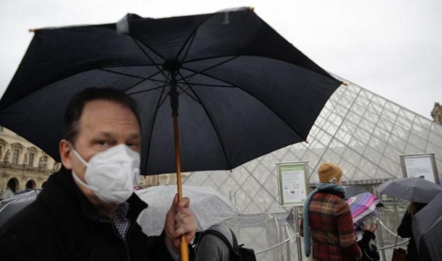 Γαλλία: Πάνω από 40.000 νέα κρούσματα κορωνοϊού σε μια μέρα