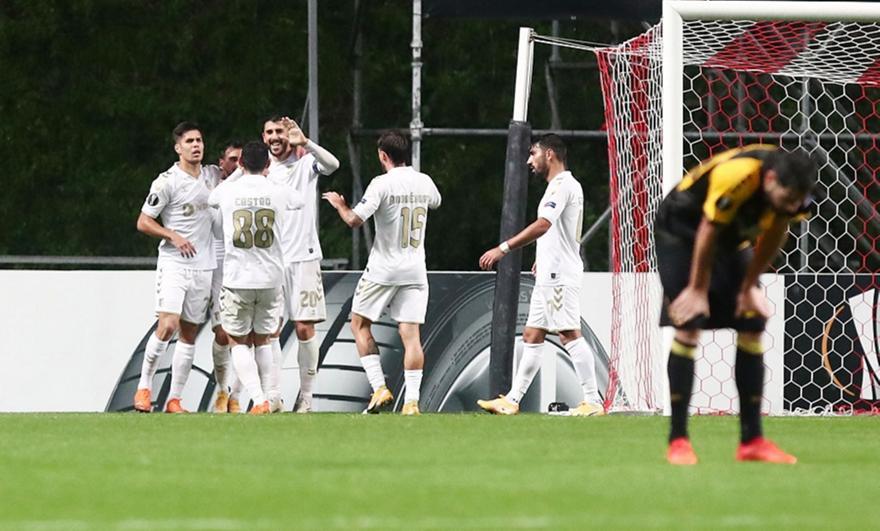 Μπράγκα-ΑΕΚ 3-0