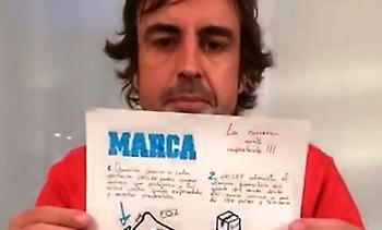 Ο Αλόνσο σχεδιάζει το πρωτοσέλιδο της Marca για έναν πολύ σημαντικό αγώνα (pics)