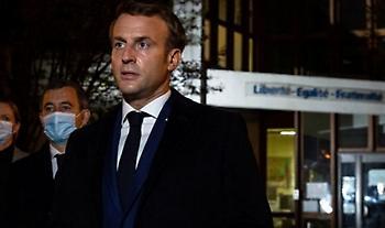 Μακρόν: Η Γαλλία θα ζει με τον κορωνοϊό τουλάχιστον έως τα μέσα του 2021...